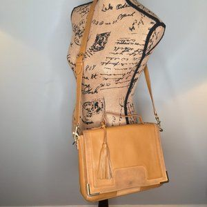 Vince Camuto Hannah Flap Messenger Bag Buckthorn